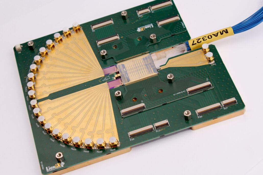 A lionix international optical beamforming module