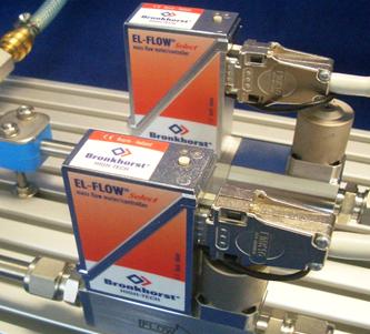 An example of a MEMS sensing instrument a gas flow sensor made for Bronkhorst